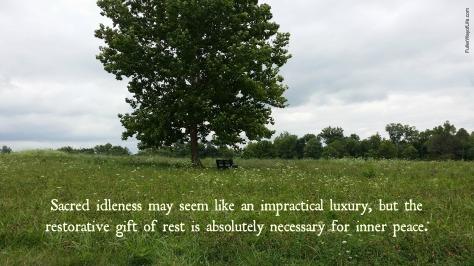 Sacred Idleness