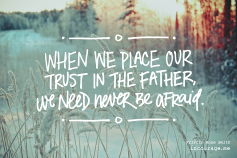 Trust in the Father