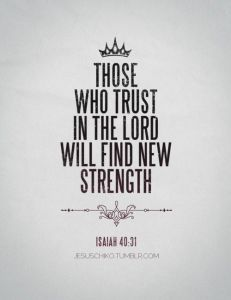Those Who Trust in the Lord