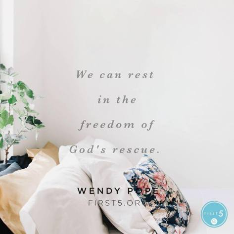 Rest in God's Rescue
